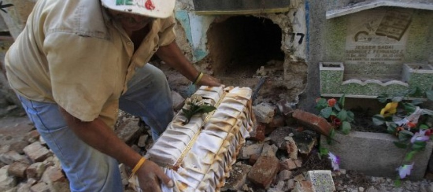 Evicted… from their own GRAVES: Mummified corpses removed from crypts after relatives can no longer afford fees in Guatemala