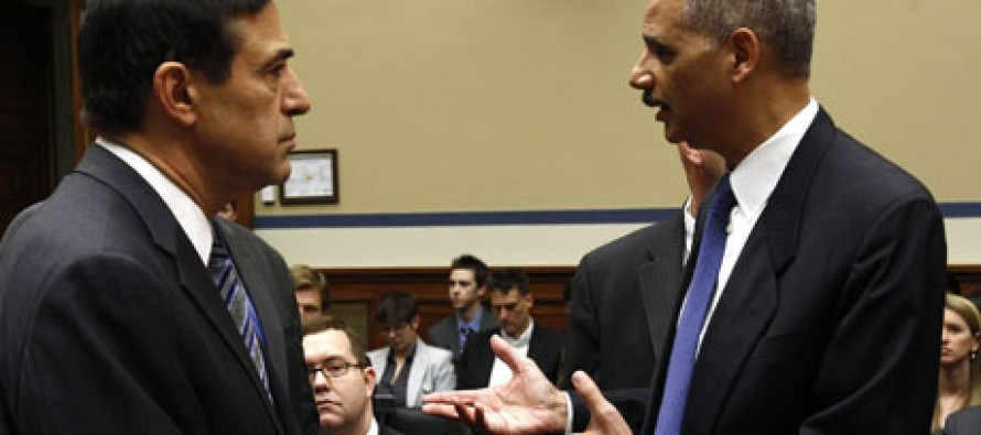 Holder Aide Accidentally Calls Darrell Issa's Office to Ask for Help Spinning IRS Scandal