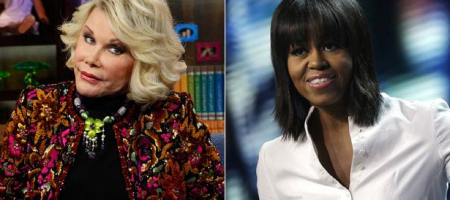 'Tranny' Michelle Obama and 2 others BANNED from Joan Rivers' funeral service