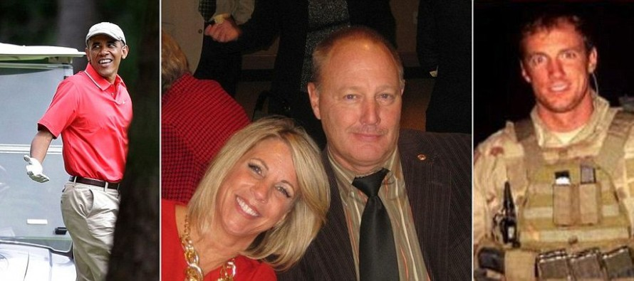 Parents of Seal Team 6 soldier killed in Afghanistan Billy and Karen Vaughn writes Open Letter demanding President Obama resign mishandling ISIS and lack of leadership: 'Your cowardly lack of leadership has left a gaping hole'