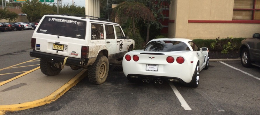"VIDEO: People who ""NEED"" Two Parking Spaces – this Guy DOES WHAT WE ALL WISH WE COULD DO!"