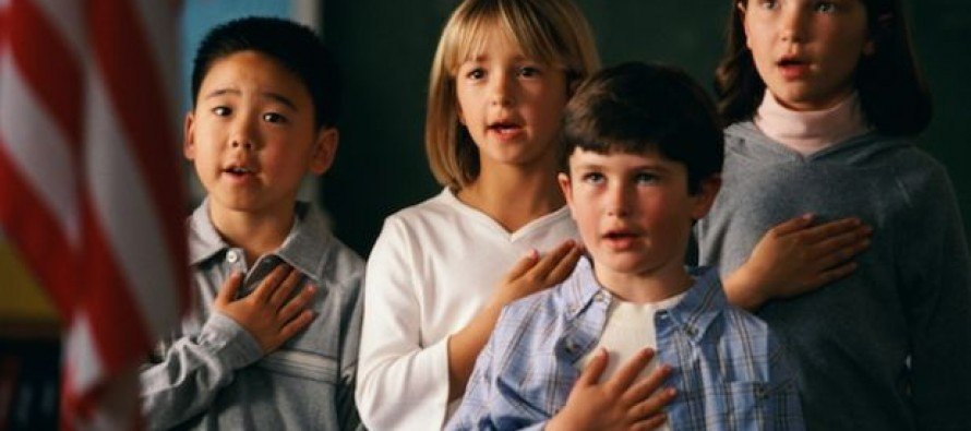 North Dakota Parents Claim School is 'Bullying' Their Child by Making Him Stand for the Pledge of Allegiance