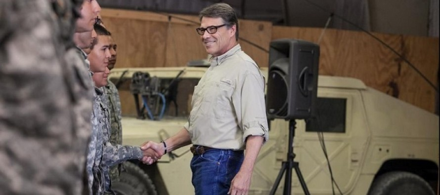 "Mexico Condemns Rick Perry for ""Irresponsible"" Deployment of National Guard Troops to the Border"