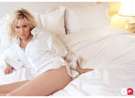 John Edwards' mistress Rielle Hunter posed for GQ after her affair with him.
