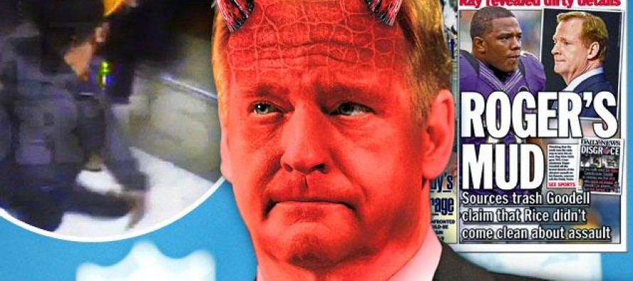 Liberal Sports Media Puts Devil Horns on Roger Goodell In Attempt Re-Create Watergate of Sports