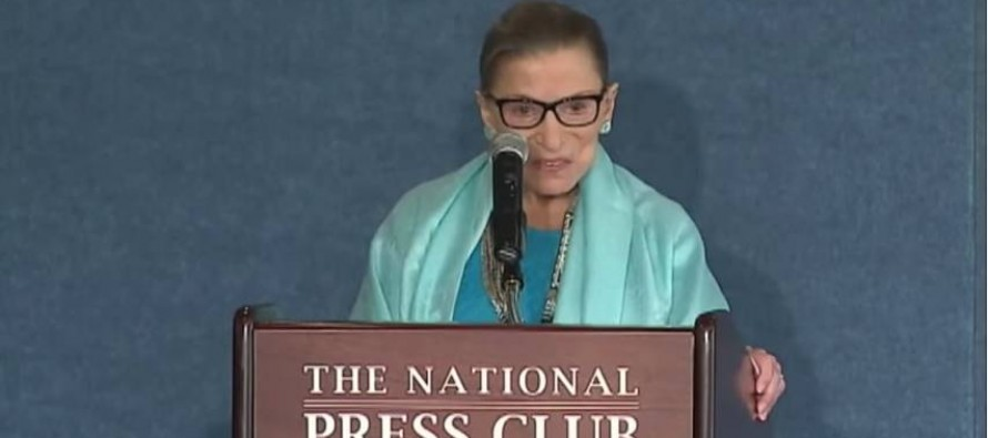 Supreme Court Justice Ruth Bader Ginsburg Makes The Case For Killing Poor Children