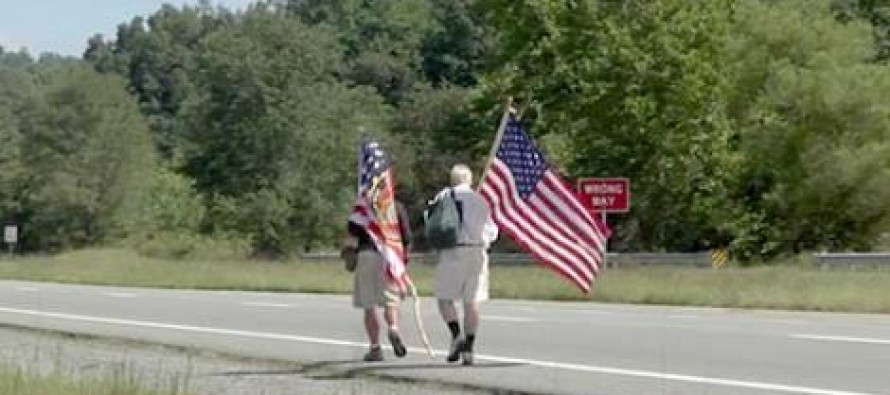 Networks ignore vets who walk 300 miles to demand action on Sgt. Tahmooressi