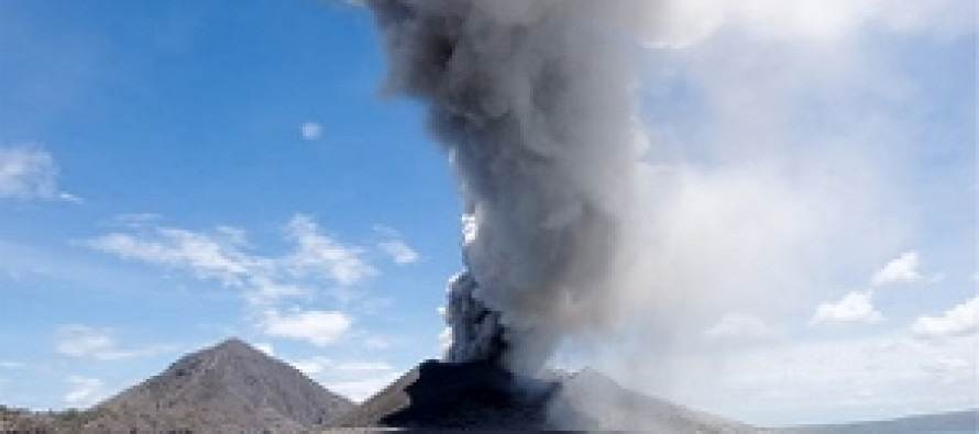 12 Seconds Into the Video, the Volcano Erupts. 25 Seconds in, Its Powerful Ensuing Effects Are Felt
