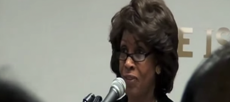 Say What?  Maxine Waters Tells Islamic Society That Shariah Law is Compatible with US Constitution (Video)