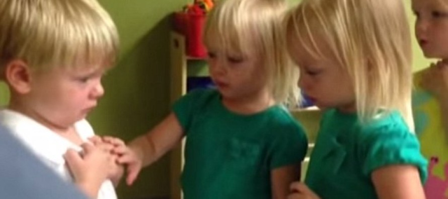 "VIDEO: ""You Poked My Heart"", Little Boy Says to Little Girl, After They Argued About the Weather"