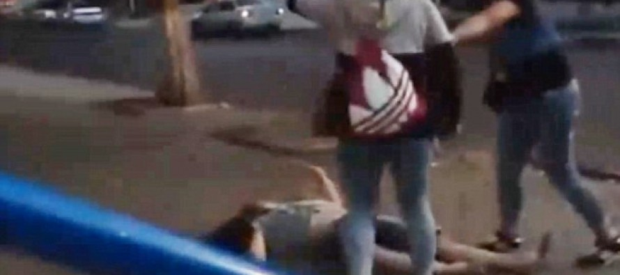 HILARIOUS VIDEO: Two women knock clubber OUT COLD when he mistakes them for prostitutes