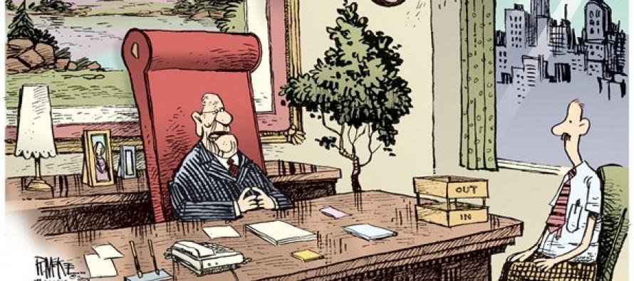 Company Layoffs (Cartoon)
