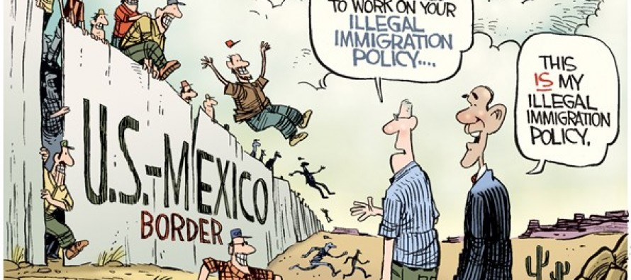 Immigration Policy (Cartoon)