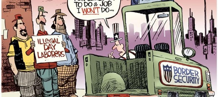 Illegal Day Laborers (Cartoon)