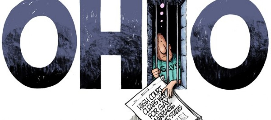 LOCAL OH – Caged Marriage (Cartoon)