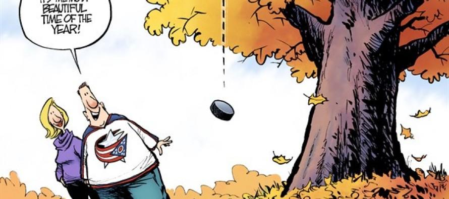 Hockey Season (Cartoon)