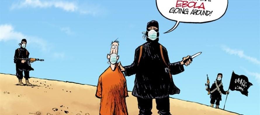 Contagion Caution (Cartoon)