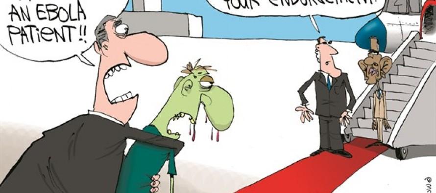 Democrats Avoid Obama (Cartoon)