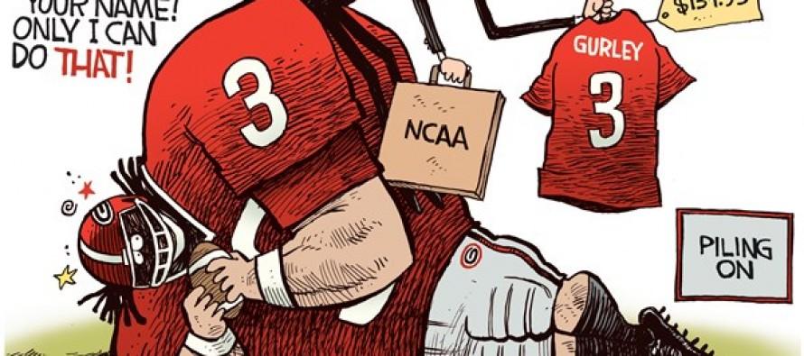 Gurley NCAA (Cartoon)