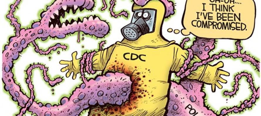 CDC Ebola (Cartoon)