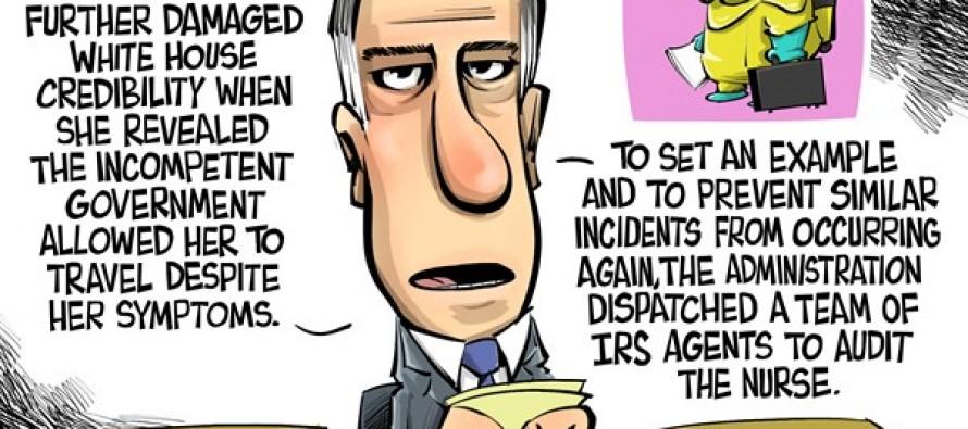 Obama's government (Cartoon)