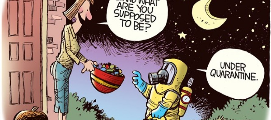 Ebola Quarantine (Cartoon)