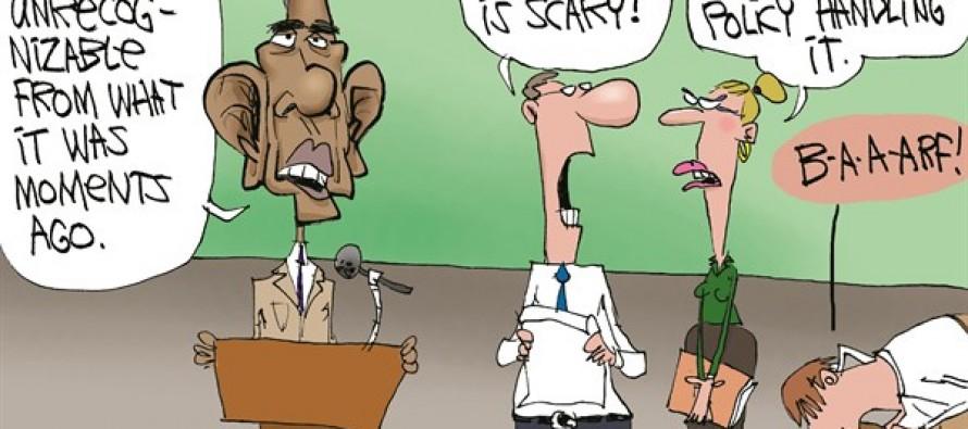 Obama's Ebola Policy (Cartoon)