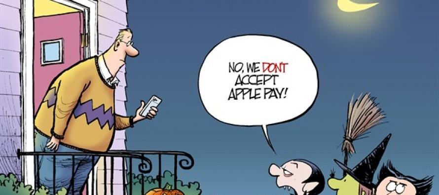 Halloween Apple Pay (Cartoon)
