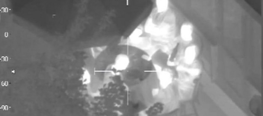 VIDEO: The Moment Partying Kids Who Shined Penlight at Police Helicopter Realized They Made a Big Mistake.