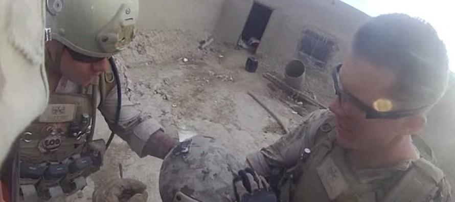 [AMAZING VIDEO] U.S. Marine Saved from Taliban Sniper Bullet by Kevlar Helmet