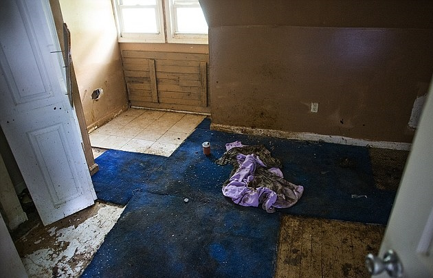 Jarrod's Feces-Covered Room, where his decomposing body was found.