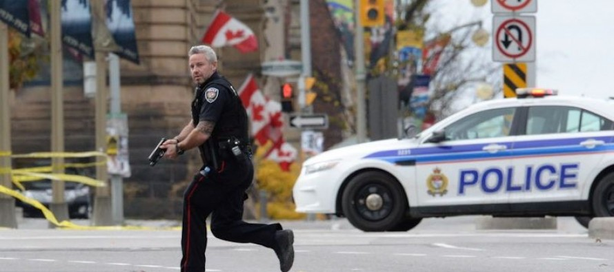 Video: The Moment Gunfire Breaks Out In Canada's Parliament