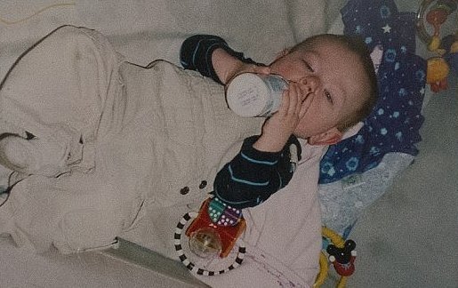 Baby Jarrod, Diagnosed with Fragile X