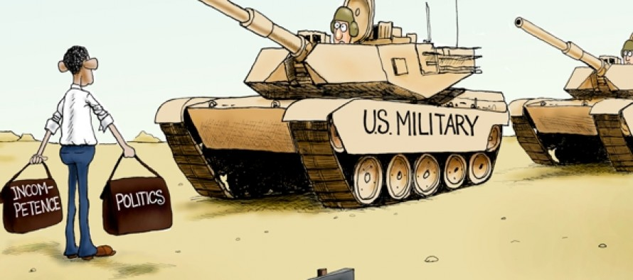 Military Blockade (Cartoon)