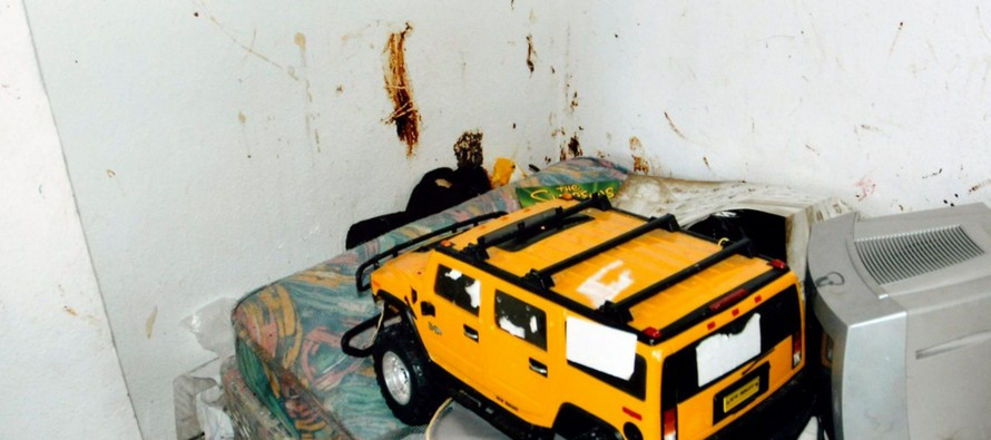 Neglected boy who went BLIND in filthy, fly-infested home wrote 'Help me' on wall