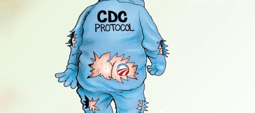 Ebola-care (Cartoon)