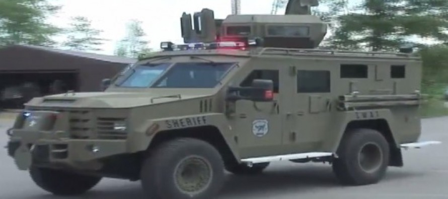 [VIDEO] Man's Wife Hospitalized After Town Launches 24 Man SWAT Raid Against a 75 year old man who owed them $80,000 in fines