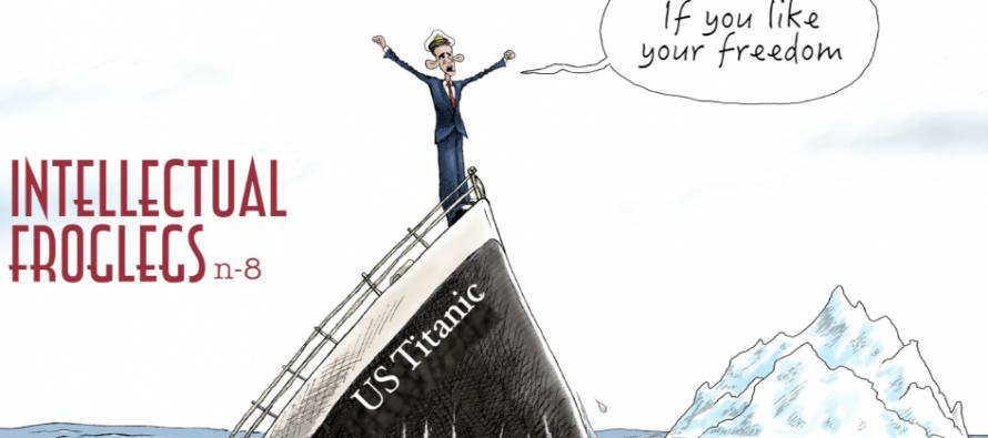 "Intellectual Froglegs ""The US Titanic"" (video)"