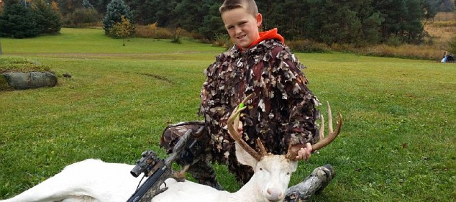 11-Year-Old Hunter is Bombarded With Death Threats After His Rare Shot is Posted on Facebook