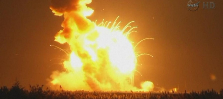 VIDEO: NASA, We Have a Problem! Unmanned Rocket Explodes Just Six Seconds After Taking Off For the International Space Station, Wiping Out Equipment Worth $200Mil