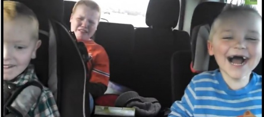 HILARIOUS: Watch these three little boys learn that their mom is pregnant with twins