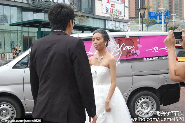 bride in china old woman argues