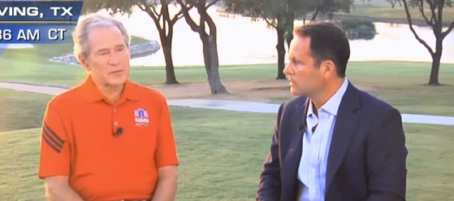 VIDEO: George W. Bush: Obama Blew it By Taking Troops Out of Iraq (Watch)