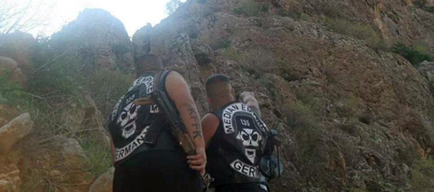 German and Dutch bikers unite to fight against ISIS