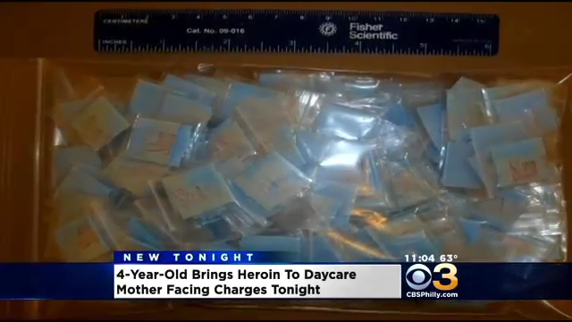heroin packs