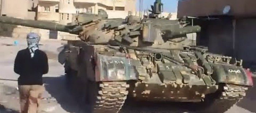 Incredible Video: Kurdish YPG Fighters Take Out ISIS Tank in Syria