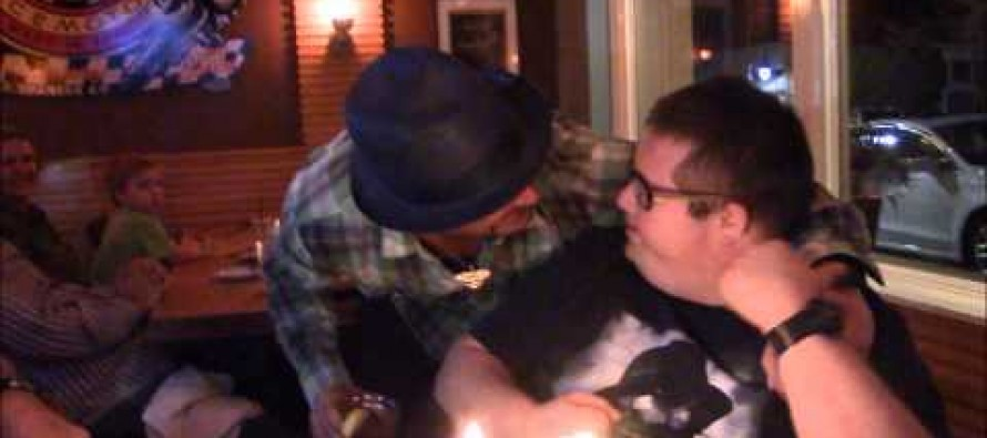 VIDEO: World's Biggest Kid Rock fan with Down Syndrome Gets a SURPRISE VISIT from his hero