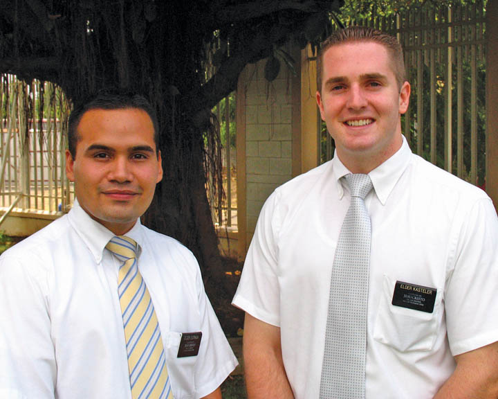 Mormon Elders on Mission