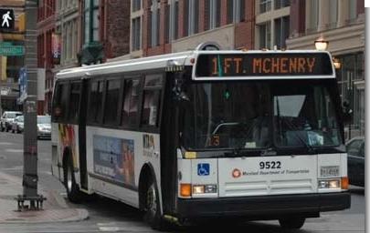 Maryland Transit Authority Bus