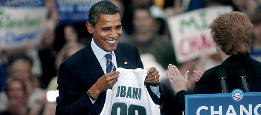 Obama Booed at Michigan State Game – By the Student Section